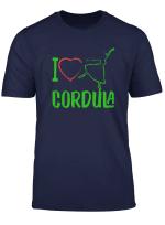 Ich Liebe Cordula Grun Tshirt I Volksmusik Mit Herz