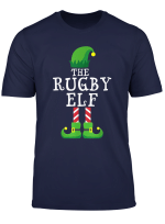 Rugby Elf Matching Family Group Christmas Gift Pajama T Shirt