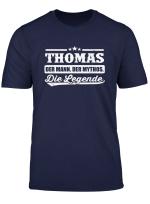Name Thomas Shirt Vorname Lustiger Spruch Geschenk T Shirt