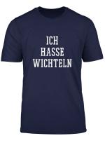 Lustiges Ich Hasse Wichteln Geschenk Weihnachtswichteln T Shirt