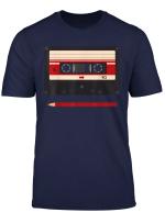 Kasette Mit Bleistift Tshirt