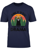 Only You Can Prevent Drama Llama Camping Vintage Funny Gift