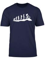 Mountain Bike Evolution Biker Mtb Cycling Downhill Gift T Shirt