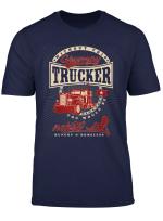 Grumpy Trucker Vintage Style Truck Driver S T Shirt