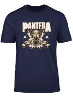 Pantera Official Hostile Skull T Shirt