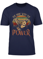 Power Babe The Owl Babe Retro Tshirt