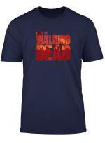The Walking Dead Blood Logo T Shirt