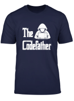 Programmer Coding Hacker The Codefather Science Gift It T Shirt