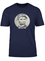 Lincoln Wearing Trump Hat T Shirt