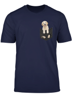 Labrador In Your Pocket For Dogs Lovers T Shirt