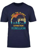 Extinction Rebellion International Movement Save The Planet T Shirt
