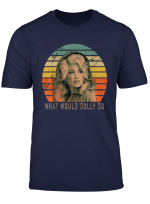 Vintage Parton Retro Distressed Classic Music T Shirt