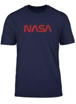 Offizielles Nasa Worm Logo Tshirt Geschenk