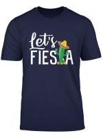 Cinco De Mayo Shirt Let S Fiesta Cactus Sombrero Hat Gift