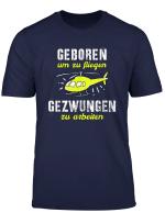Hubschrauber Pilot Rc Modell Fliegen Lustiger Spruch T Shirt