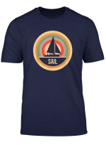 Retro Vintage Sailing Gift For Sailors T Shirt
