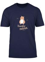 Damen Hamster Spruch Lustig Haustier Nagetier Zwerghamster Nager T Shirt