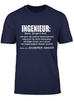T Shirt Ingenieur Definition Bauingenieur Maschinenbau