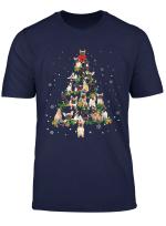 French Bulldog Christmas Tree X Mas Gift T Shirt