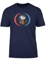 Peanuts Snoopy Im Weltraum 1969 T Shirt