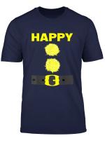 Happy Dwarf Halloween Costume Blue T Shirt
