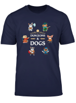 Dungeons And Dogs Rpg D20 Anime Dragons Slayer Gamers Gift T Shirt