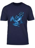 Pfeilgiftfrosch Blau Baumsteigerfrosche Geschenk T Shirt