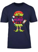 Die Krankenschwester Elf Weihnachten Registriert Nicu T Shirt