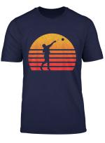 Vintage Retro Sunset Shot Put T Shirt