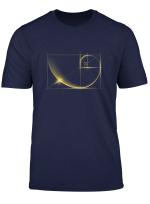 Fibonacci Goldener Schnitt T Shirt