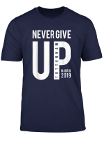 Never Give Up Tottenham T Shirt Madrid Final 2019 Tees