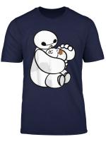 Disney Big Hero 6 Baymax Cat Cute Portrait T Shirt
