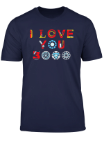 I Love You Dad T Shirt Gift Father S Day
