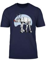 Star Wars At At Rudolph Nose Poster T Shirt