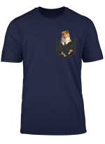 Rough Collie In Your Pocket For Dogs Lovers T Shirt