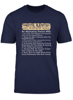 Parental Alienation Warning Signs Know The Facts Divorce T Shirt