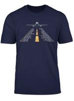 Phonetic Alphabet T Shirt Pilot Cadet Airplane Shirt