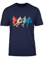 Vintage Rugby Rugger Birthday Christmas Flanker Scrum T Shirt