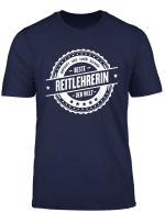 Top Reitlehrerin Geschenk Reitschule Beruf Kollegen T Shirt