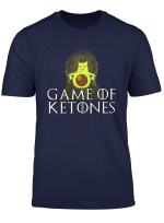 Game Of Ketones Keto Avocado Throne T Shirt