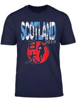 Scotland Rugby Flag T Shirt Rugby Football Gift T Shirt T Shirt