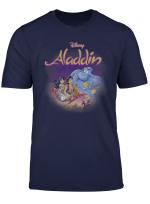 Disney Aladdin Group Shot Classic Movie Poster T Shirt