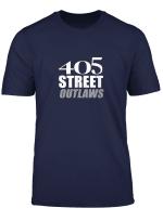 405 Street Outlaws T Shirt Lay Gummi Down Track Race Tee