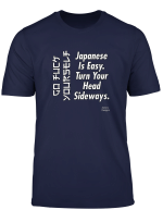 Jame S Designs Go Fuck Yourself Japanese Is Easy Funny Joke T Shirt