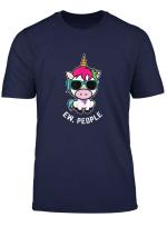 Ew People Unicorn Girls Women T Shirt