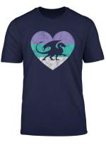 Dragon Gift Shirt For Women Girls Retro Cute