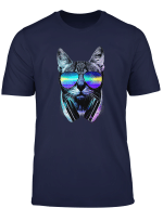 Rave Katze Edm Katzchen Dj Technik Haus Musik Unterirdisch T Shirt