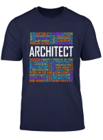 Architect Gifts Architecture Lover Student Graduation Words T Shirt