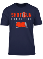 Shotgun Formation Cleveland T Shirt
