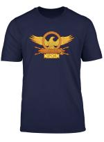 Spqr Imperial Roman Eagle Standard Legion Banner Shirt